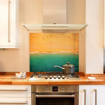 Seaside Scenes kitchen splashback