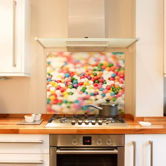 Sweets kitchen splashback
