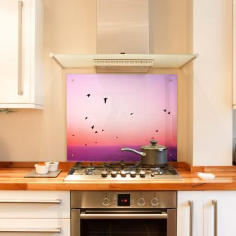 Your Own Image Glass Splashback