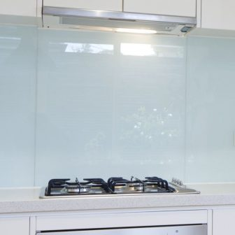Clear Splashback